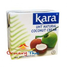 Kara UHT Coconut cream, 16.9 oz.