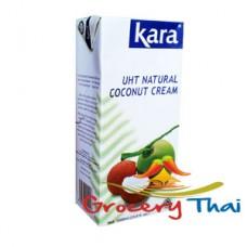 Kara UHT Coconut cream, 33.8 oz.