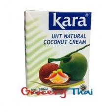Kara UHT Coconut cream (2x6.8oz)