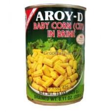 Baby Corn cut in Brine, 15 oz