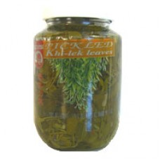 Pickled Khi-lek Leaves 16 oz.
