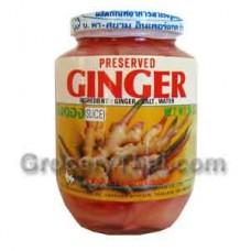 Preserved Ginger Slice, 16 oz.