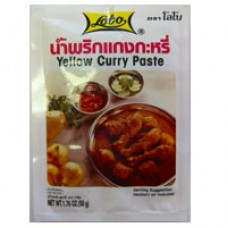 Yellow Curry Paste, LOBO (2pks)