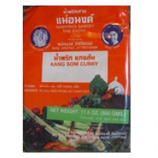 Kang Som Curry Paste, Mae Anong 17.6 oz