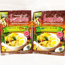 Bamboe Soto Ayam, Instant spices for Chicken Soup (2 packs)