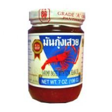 Shrimp Paste w Soya Bean Oil, 7oz.