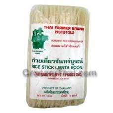 Rice Noodles (Sen Lek) 16oz.
