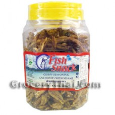 Fish Sesame Snack 7 oz