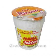 Mama Instant Porridge Jok Cup Chicken  6x45g.