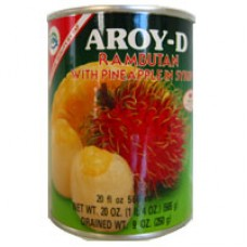 Rambutan with Pineapple, Aroy D