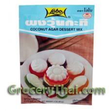 Coconut Agar Dessert Mix, Lobo
