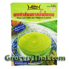 Thai Custard Mix Pandan Flavor Lobo