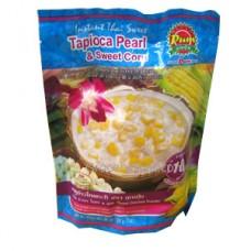 Tapioca Pearl and Sweet Corn