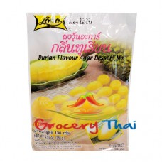 Durian Flavor Agar Dessert Mix, Lobo