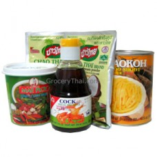 Green Curry Set, Mae Ploy