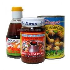 Tom Yum Paste Set, Por Kwan