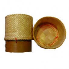 Sticky Rice Serving Bamboo Container 5""
