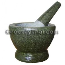 Granite Mortar and Pestle 6""