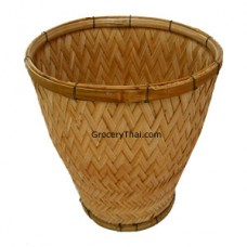 Sticky Rice Steaming Bamboo Basket U Shape