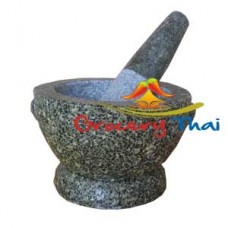 Granite Mortar and Pestle 7 ""