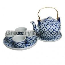 Thai Ceramic Tea Kettle Set