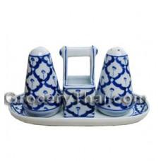 Thai Ceramic Salt Pepper Shakers