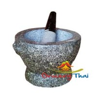 Granite Mortar and Pestle 10""