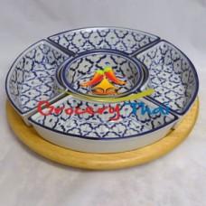 Thai Ceramic Lazy Susan Set
