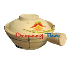 Chinese Food Clay Pot w Single handle