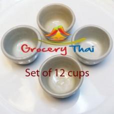 Thai Rice Coconut Cake Cups (12 cups)