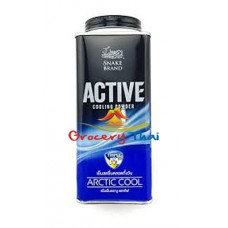 Snake Brand Active Cooling Powder, Arctic Cool