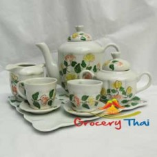 Miniature Child ceramic Tea Set 10pcs. C301