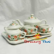 Miniature Child ceramic Tea Set 10pcs. C303