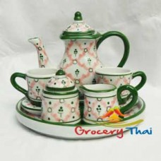 Miniature Child ceramic Tea Set 10pcs.