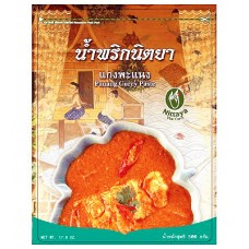 Panang Curry Paste, Nittaya, 17.6 oz