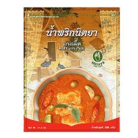 Red Curry Paste, Nittaya, 17.6 oz