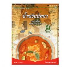 Red Curry Paste, Nittaya, 17.6 oz